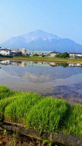 さかさ武甲山